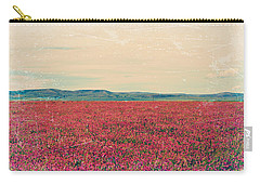 Fields Of Heaven Carry-all Pouch by Leanna Lomanski