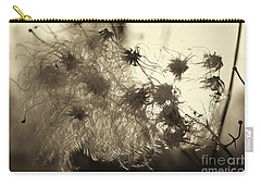 Carry-all Pouch featuring the photograph Filaments by Eunice Gibb