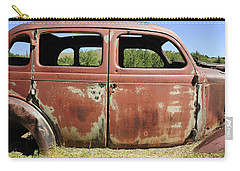 Carry-all Pouch featuring the photograph Final Destination by Fran Riley