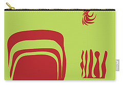 Fire Spirit Cave Carry-all Pouch by Kevin McLaughlin