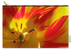 Fire Tulip Carry-all Pouch