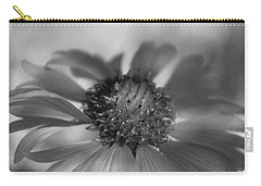 Carry-all Pouch featuring the photograph Firewheel In Mono by Vicki Pelham
