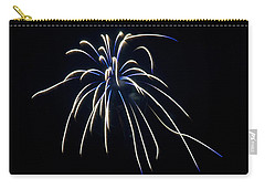 Carry-all Pouch featuring the photograph Fireworks 4 by Mark Dodd