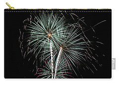 Carry-all Pouch featuring the photograph Fireworks 8 by Mark Dodd