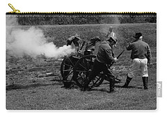 Firing The Canon Carry-all Pouch by Karen Harrison