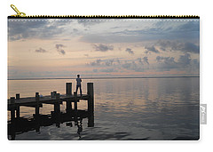 Carry-all Pouch featuring the photograph First Light by Clara Sue Beym