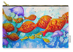 Fish Abstract Painting Carry-all Pouch