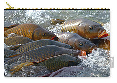 Carry-all Pouch featuring the photograph Fishing And Hunting by Elizabeth Winter