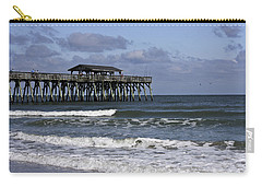 Fishing On The Pier Carry-all Pouch