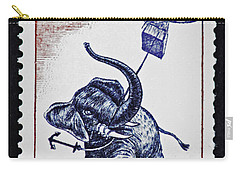 Carry-all Pouch featuring the photograph Five Weeks In A Balloon by Andy Prendy