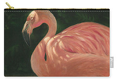 Flamingo In Dappled Light Carry-all Pouch