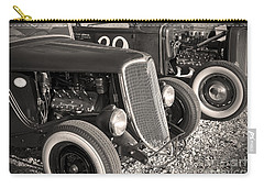 Flatheads And Whitewalls Carry-all Pouch