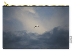 Carry-all Pouch featuring the photograph Flight To Heaven by Penny Meyers