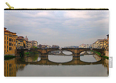 Florence Italy Bridge Carry-all Pouch