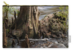 Carry-all Pouch featuring the photograph Florida Rapids by Steven Sparks