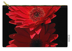 Carry-all Pouch featuring the photograph Flowers From My Son by Cindy Manero