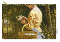 Flowers From The Woods Carry-all Pouch