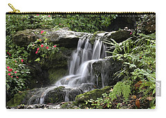 Carry-all Pouch featuring the photograph Flowing Softly by Myrna Bradshaw