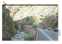 Fly Fishing In Colorado Carry-all Pouch by Randy J Heath
