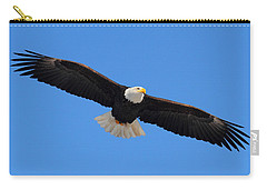Flying Bald Eagle Carry-all Pouch