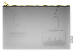 Carry-all Pouch featuring the photograph Fog by Eunice Gibb