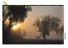 Foggy Morn Street Carry-all Pouch