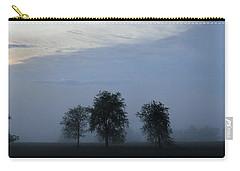 Foggy Pennsylvania Treeline Carry-all Pouch