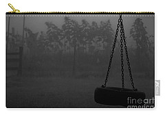 Foggy Playground Carry-all Pouch by Cheryl Baxter
