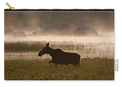 Foggy Stroll Carry-all Pouch by Brent L Ander