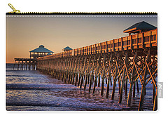 Folly Beach Pier Carry-all Pouch