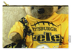 Football Bear Carry-all Pouch
