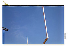 Carry-all Pouch featuring the photograph Football Goal by Henrik Lehnerer