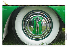 Carry-all Pouch featuring the photograph Ford 1946 by Anna Ruzsan