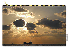 Carry-all Pouch featuring the photograph Fort Lauderdale Sunrise by Clara Sue Beym