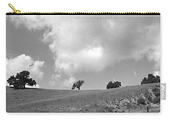 Carry-all Pouch featuring the photograph Four On The Hill by Kathleen Grace