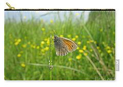 Carry-all Pouch featuring the photograph Fragile Beauty #02 by Ausra Huntington nee Paulauskaite