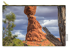 Framed Balance Rock Carry-all Pouch