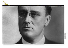 Carry-all Pouch featuring the photograph Franklin Delano Roosevelt by International  Images