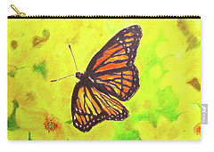 Free To Fly Carry-all Pouch by Beth Saffer