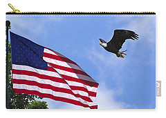 Carry-all Pouch featuring the photograph Freedom Feeds The Family by Randall Branham