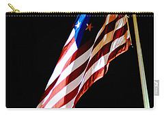 Flag On Federal Hill Carry-all Pouch
