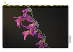 Carry-all Pouch featuring the photograph Freesia In The Spotlight by Susan Rovira