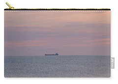 Carry-all Pouch featuring the photograph Freighter by Bonfire Photography
