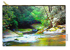French Broad River Filtered Carry-all Pouch