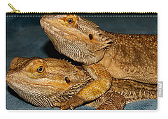Friends For Life Carry-all Pouch by Karen Harrison
