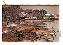 Frosty Sunset Carry-all Pouch by Robin-Lee Vieira