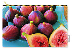 Fruit - Jersey Figs - Harvest Carry-all Pouch by Susan Carella