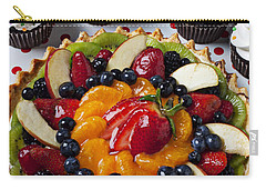 Fruit Tart Pie And Cupcakes  Carry-all Pouch