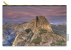 Full Moon Rise Behind Half Dome Carry-all Pouch