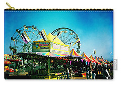 Carry-all Pouch featuring the photograph Fun At The Fair by Nina Prommer